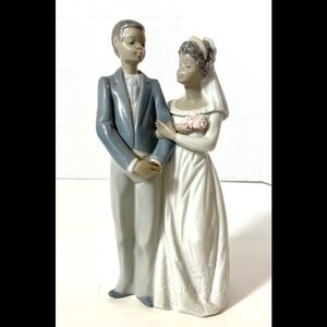 Lladro Black Legacy Bride and Groom
